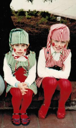 cara and stacy elf tbt