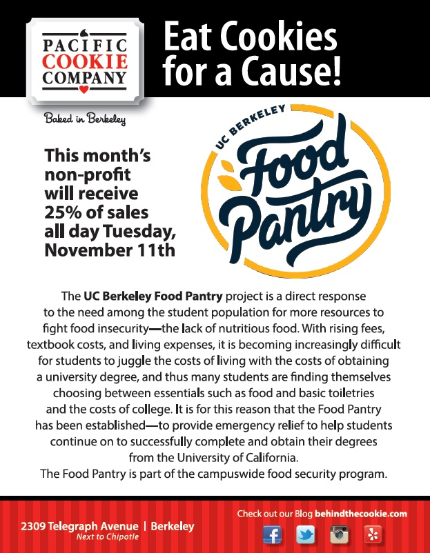 Berkeley Non-Profit Day Supports the UC Berkeley Food Pantry