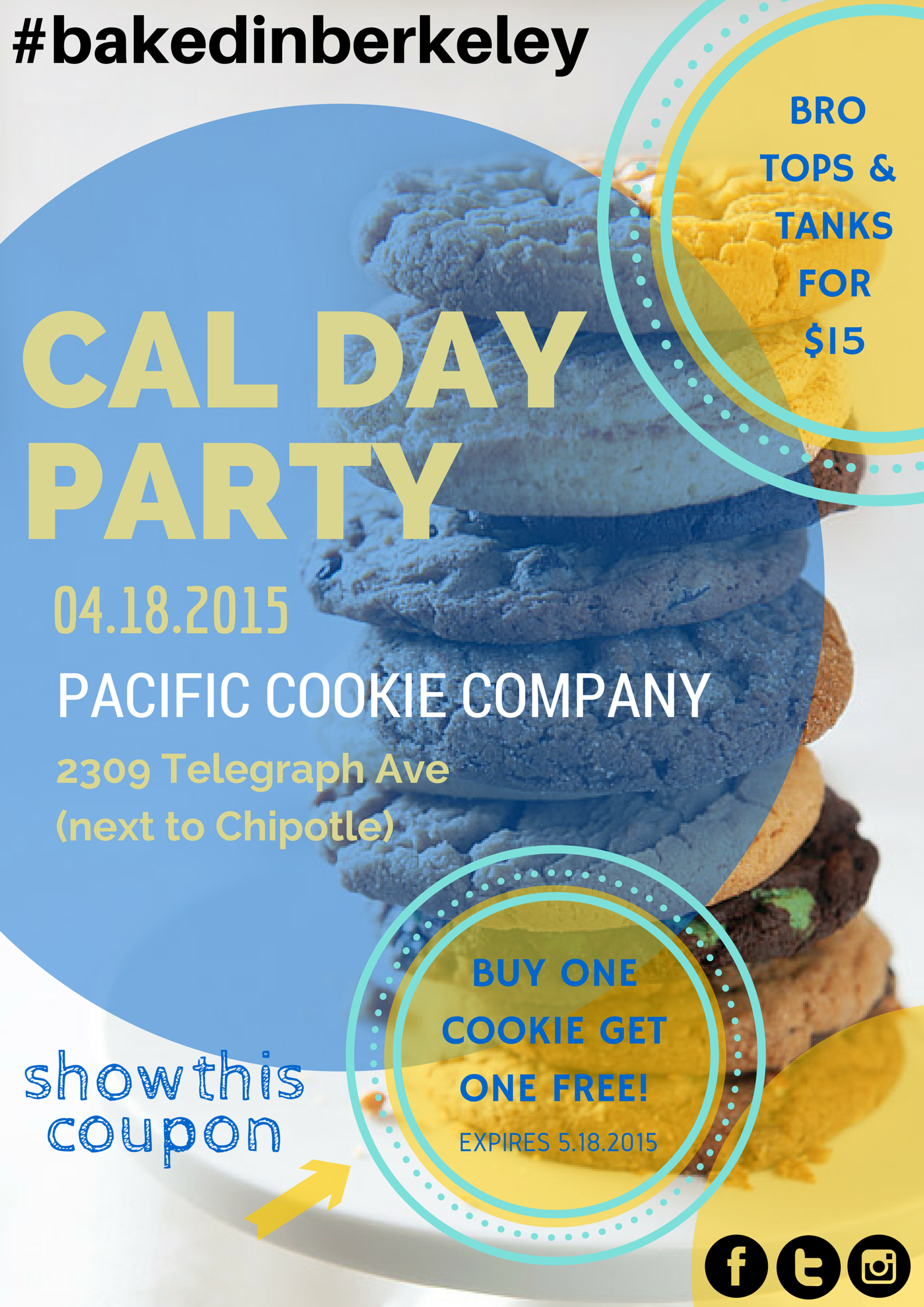 Cal Day Party 2015!