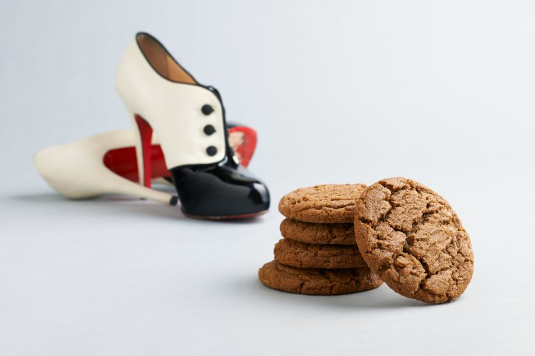 Louboutons and ginger spice cookies